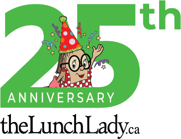 The Lunch Lady 25th Anniversary logo